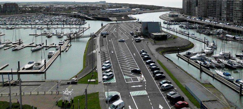 Parking Jachthaven - Parking DB Blankenberge
